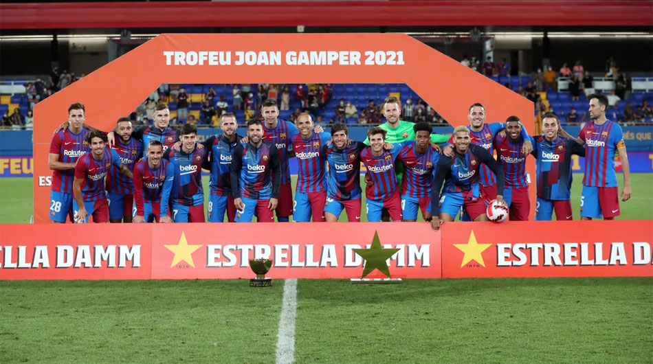 Lot de jucatori FC Barcelona