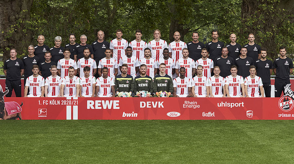 Lot de jucatori FC Köln