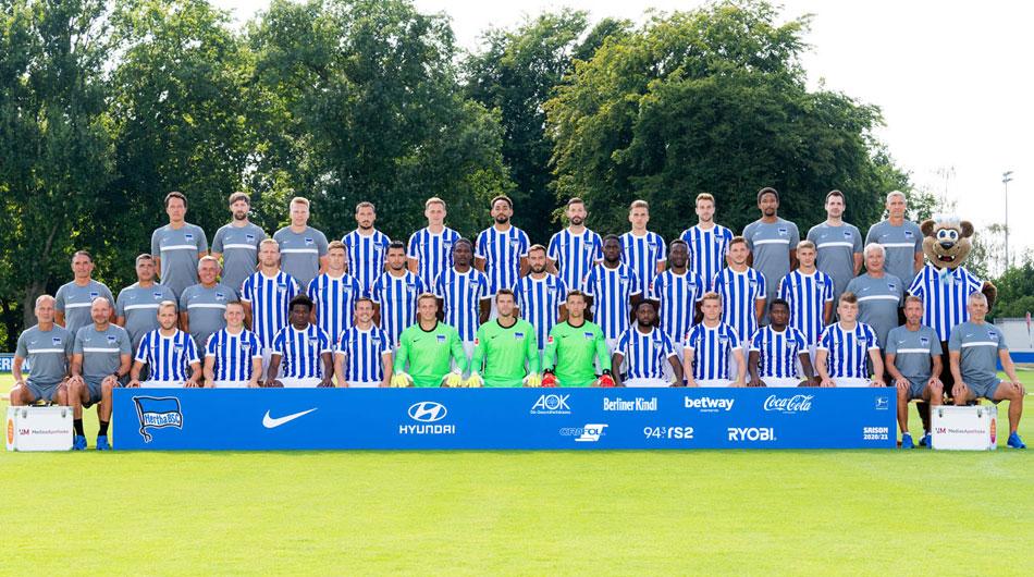 Lot de jucatori Hertha Berlin