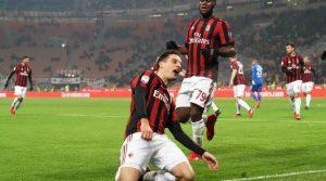 Giacomo Bonaventura a marcat golurile decisive ale meciului AC Milan - Bologna 2-1