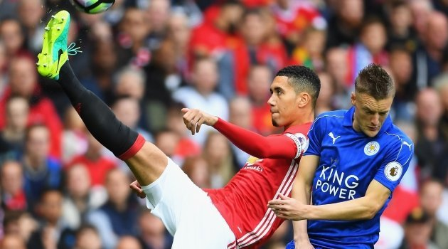 Chris Smalling (Manchester United), Jamie Vardy (Leicester City)