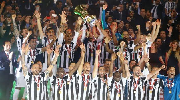 Juventus - AC Milan 4-0 (finala Cupa Italiei)