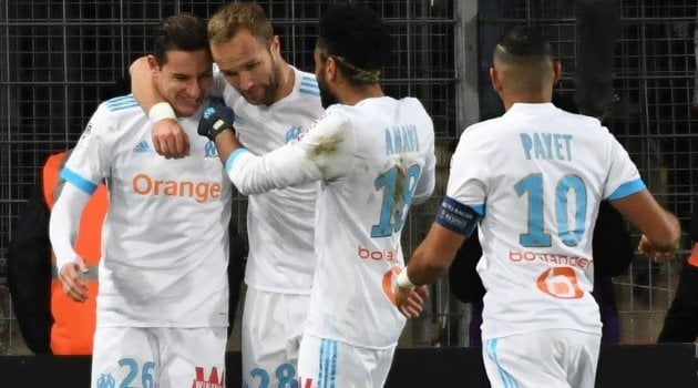 Florian Thauvin a marcat în meciul Montpellier - Marseille 1-1