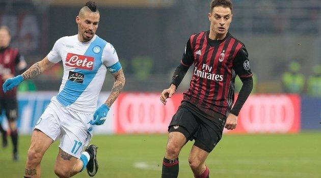 Marek Hamsik (Napoli), Giacomo Bonaventura (AC Milan)