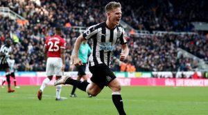 Matt Ritchie a marcat golul decisiv al meciului Newcastle - Manchester United 1-0