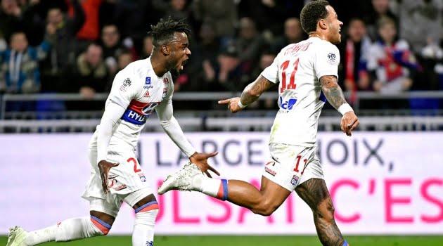 Memphis Depay a marcat ambele goluri ale meciurlui Lyon - Toulouse 2-0