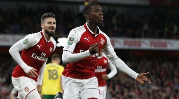 Edward Nketiah, Arsenal