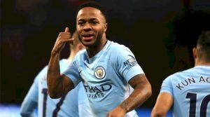 Raheem Sterling a deschis scorul în meciul Manchester City - Watford 3-1