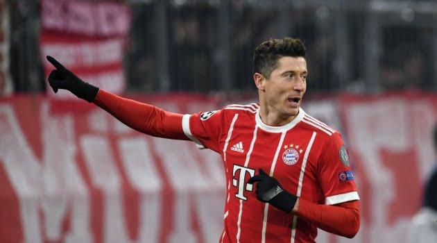 Robert Lewandowski, Bayern MunchenRobert Lewandowski, Bayern Munchen