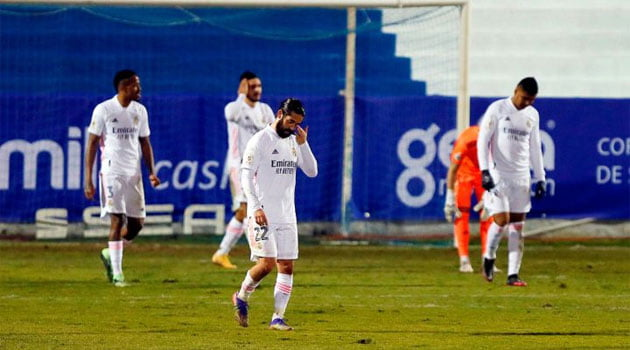 Alcoyano - Real Madrid 2-1 după prelungiri în Copa del Rey 2020-2021