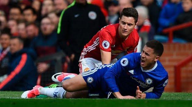Ander Herrera (Manchester United), Eden Hazard (Chelsea)