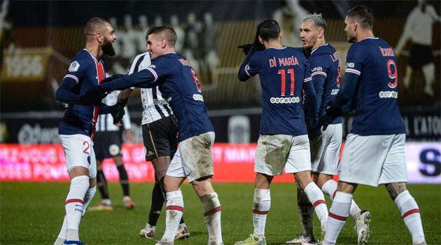 Angers - PSG 0-1 (16 ianuarie 2021)
