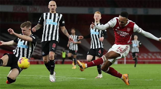 Aubameyang a reușit o dublă în meciurl Arsenal - Newcastle 3-0