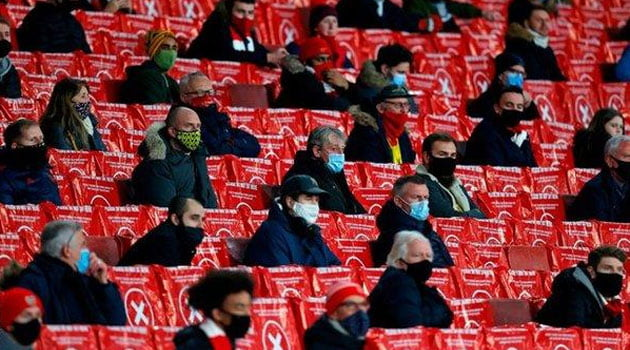 Spectatorii au revenit pe Emirates pentru meciul Arsenal - Rapid Viena 4-1