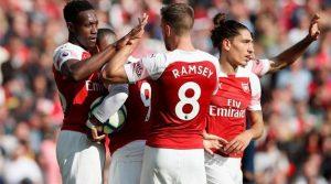 Arsenal - West Ham United 3-1, 25 august 2018