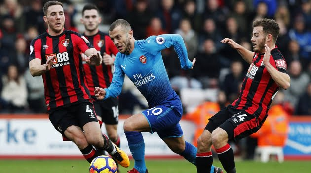 Bournemouth - Arsenal 2-1 (Premier League, 14 ianuarie 2018)