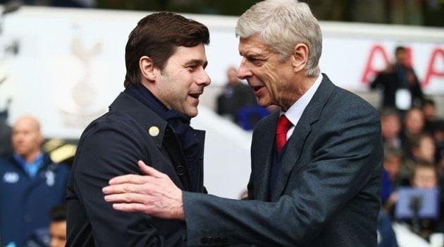 Mauricio Pochettino (Tottenham), Arsene Wenger (Arsenal)