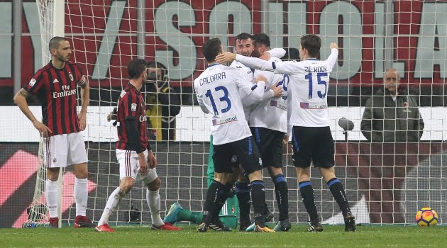 AC Milan - Atalanta (Serie A, 23 decembrie 2017)