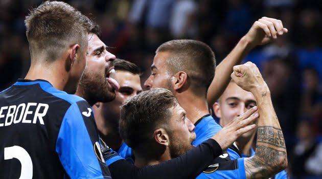 Atalanta a obţinut un egal în meciul cu Lyon din Europa League