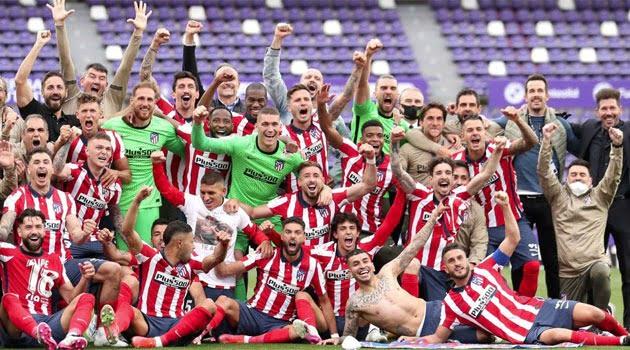 Atletico Madrid, campioana Spaniei 2020-2021