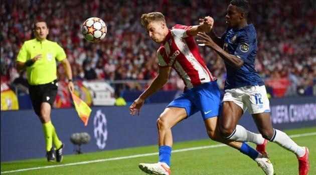 Atletico Madrid și FC Porto au remizat 0-0 în primul lor meci din grupele Champions League 2021-2022