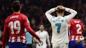 Atletico - Real Madrid 0-0, noiembrie 2017