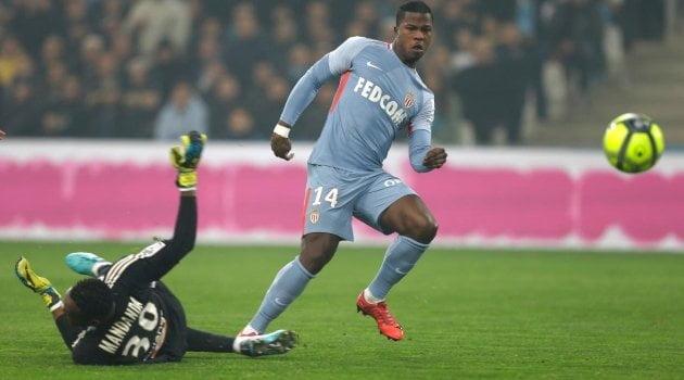 Keita Balde a deschis scorul în meciul Marseille - Monaco 2-2