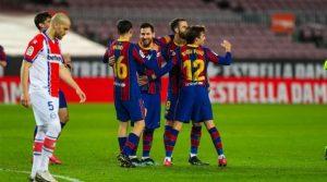 Barcelona - Alaves 5-1, 13 februarie 2021