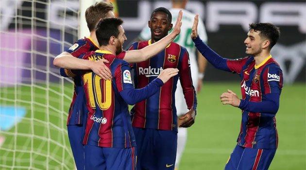 Barcelona - Elche 3-0 (24 februarie 2021)