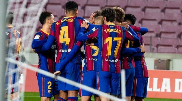 Barcelona - Levante 1-0, La Liga, decembrie 2020