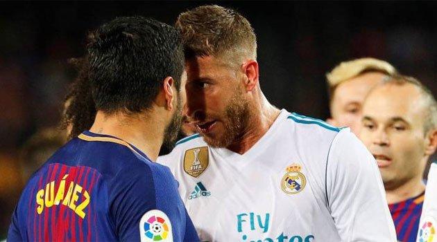 Barcelona - Real Madrid 2-2 a fost un meci plin de tensiune