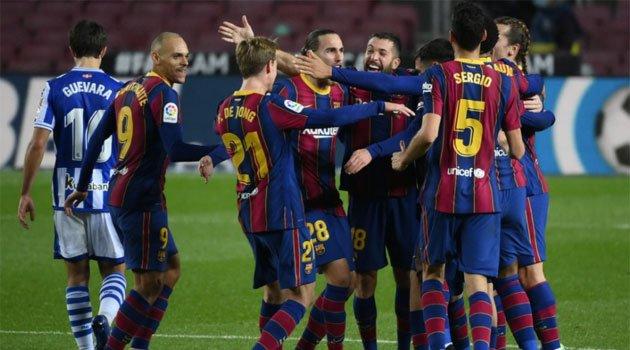 FC Barcelona - Real Sociedad 2-1