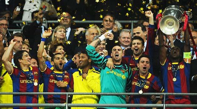 FC Barcelona, câştigătoarea Champions League în 2011