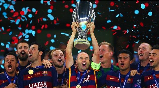 FC Barcelona, câştigătoarea Supercupei Europei 2015