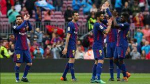 Barcelona - Valencia 2-1, La Liga, 14 aprilie 2018