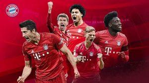 Bayern, Campioana Germaniei 2019-2020 (sursa: bundesliga.de)