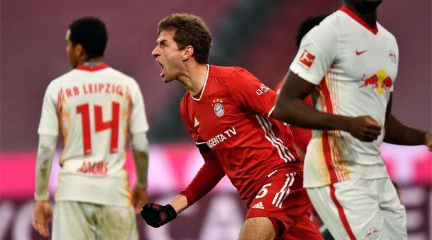 Thomas Muller a reușit o dublă în meciul Bayern Munchen - Leipzig 3-3