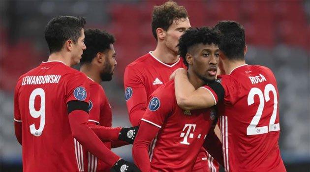 Bayern - Salzburg 3-1, Champions League 2020-2021, noiembrie 2020