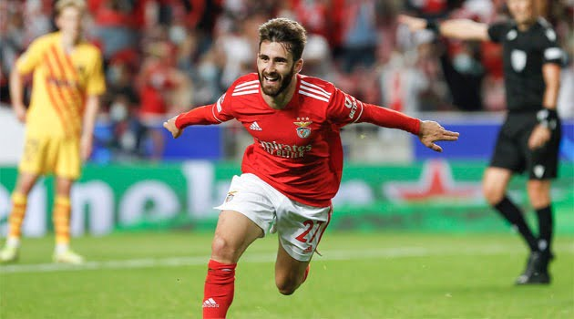 Benfica Lisabona - FC Barcelona 3-0, grupele Champions League 2021-2022