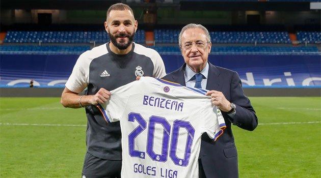Karim Benzema, la golul 200 în La Liga