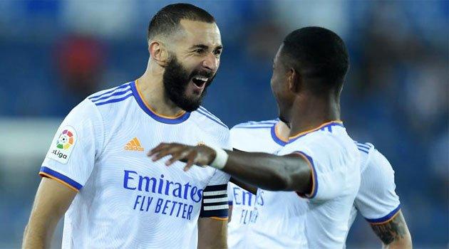 Karim Benzema, dublă pentru Real Madrid în primul meci al sezonului 2021-2022