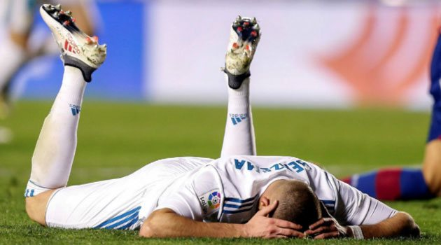 Karim Benzema, după Levante - Real Madrid 2-2