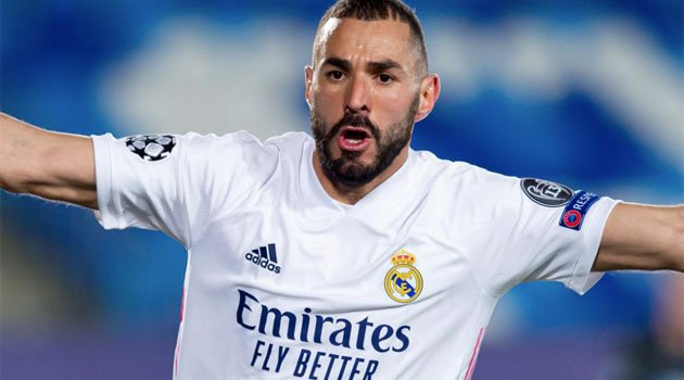Karim Benzema, eroul lui Real Madrid în meciul cu Borussia Monchengladbach, scor 2-0