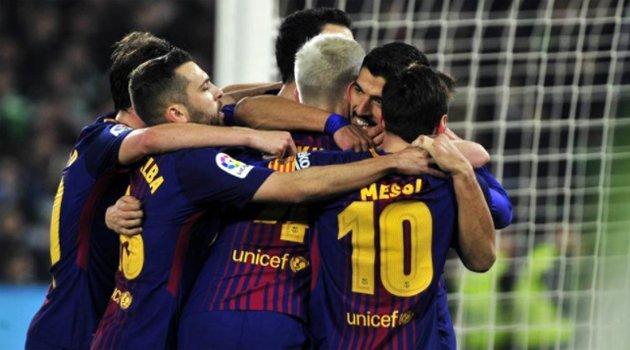 Betis - Barcelona 0-5, 21 ianuarie 2018