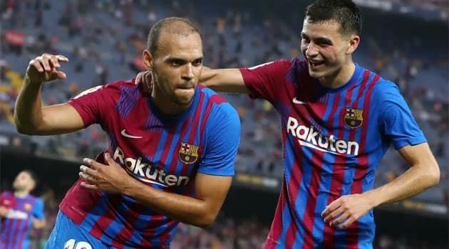 Martin Braithwaite, dublă pentru Barcelona în meciul cu Real Sociedad