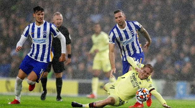 Duel aprig între Brighton și Arsenal, scor final 0-0