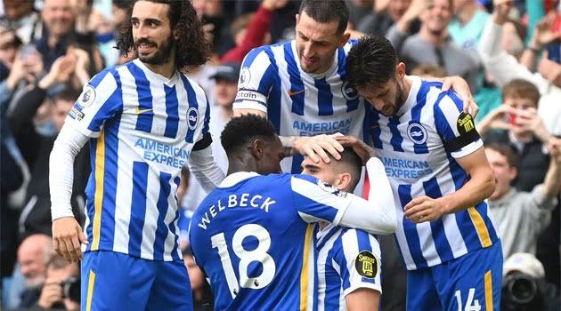 Brighton, victorie cu Leicester City (2-1)