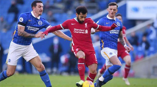 Brighton - Liverpool 1-1, noiembrie 2020