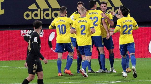 Cadiz - Barcelona 2-1, La Liga 2020-2021