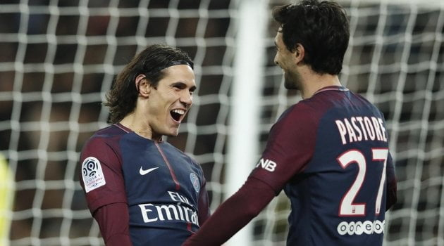 Edinson Cavani, Javier Pastore (Paris Saint-Germain)